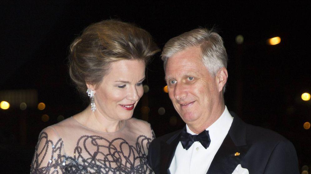 Foto: Matilde y Felipe de Bélgica, en su visita a la Filarmónica de Luxemburgo (Cordon Press)
