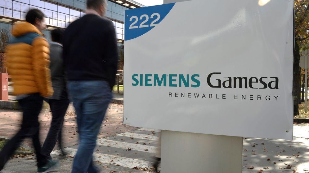 Foto: Logo de Siemens Gamesa. (Reuters)