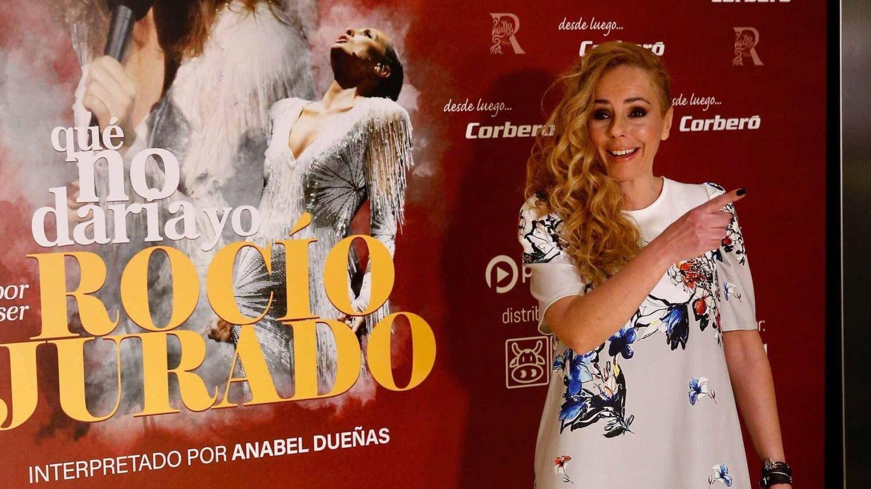 Rocío Carrasco, posando para los medios. (EFE)