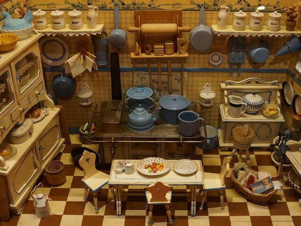 Foto: Crea tu propia cocina en la casa de muñecas adecuada (Foto: Pixabay)