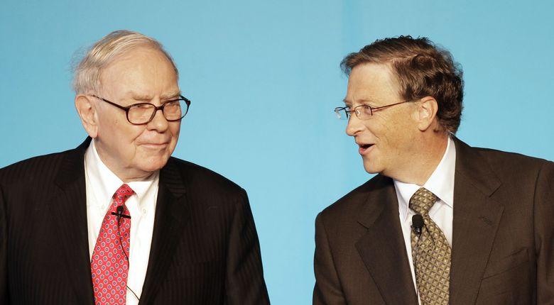 Foto: Warren Buffett y Bill Gates son, probablemente, los dos emprendedores más importantes de Estados Unidos. (Reuters)