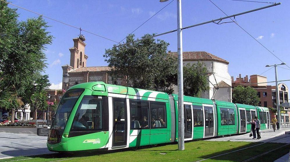 Foto: El tranvía de Parla.