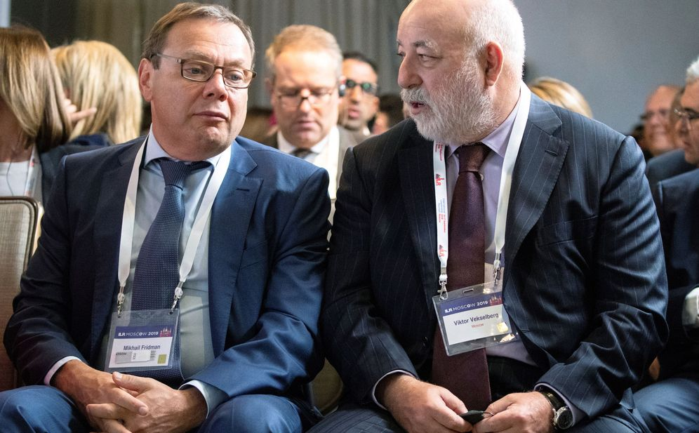 Foto: Mikhail Fridman y el CEO de Renova, Viktor Vekselberg. (Reuters)