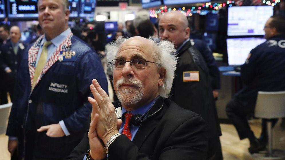 Foto: Corredores de bolsa en Wall Street. (Reuters)