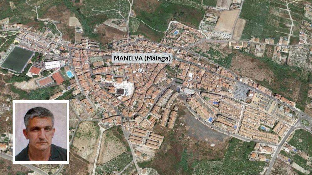 Foto: Investigan la desaparición de un hombre en el municipio malagueño. Foto: SOS Desaparecidos/Google Earth