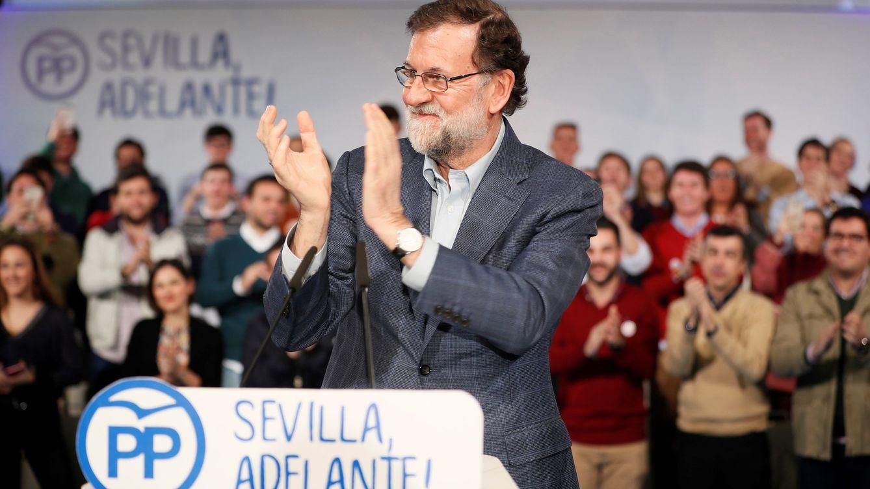 Rajoy adelanta la campaña en Andalucía y estrena su batalla contra Ciudadanos