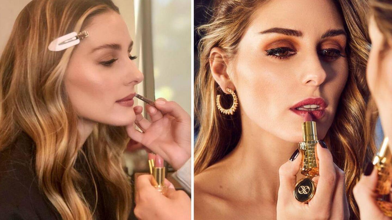 Olivia Palermo ha lanzado tan solo tres tonos de labial. (Instagram)