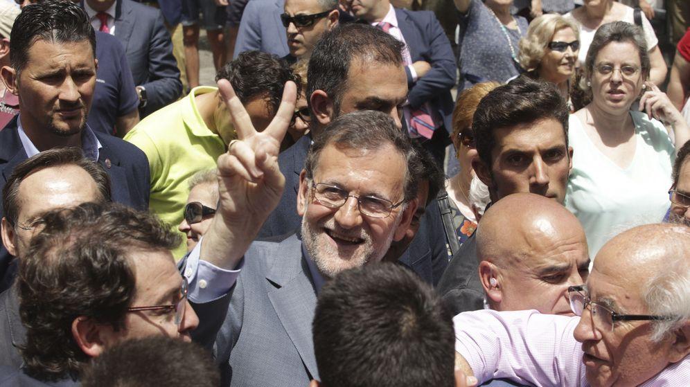 Foto:  El presidente del Gobierno en funciones y candidato del Partido Popular el 26 de junio, Mariano Rajoy. (EFE)