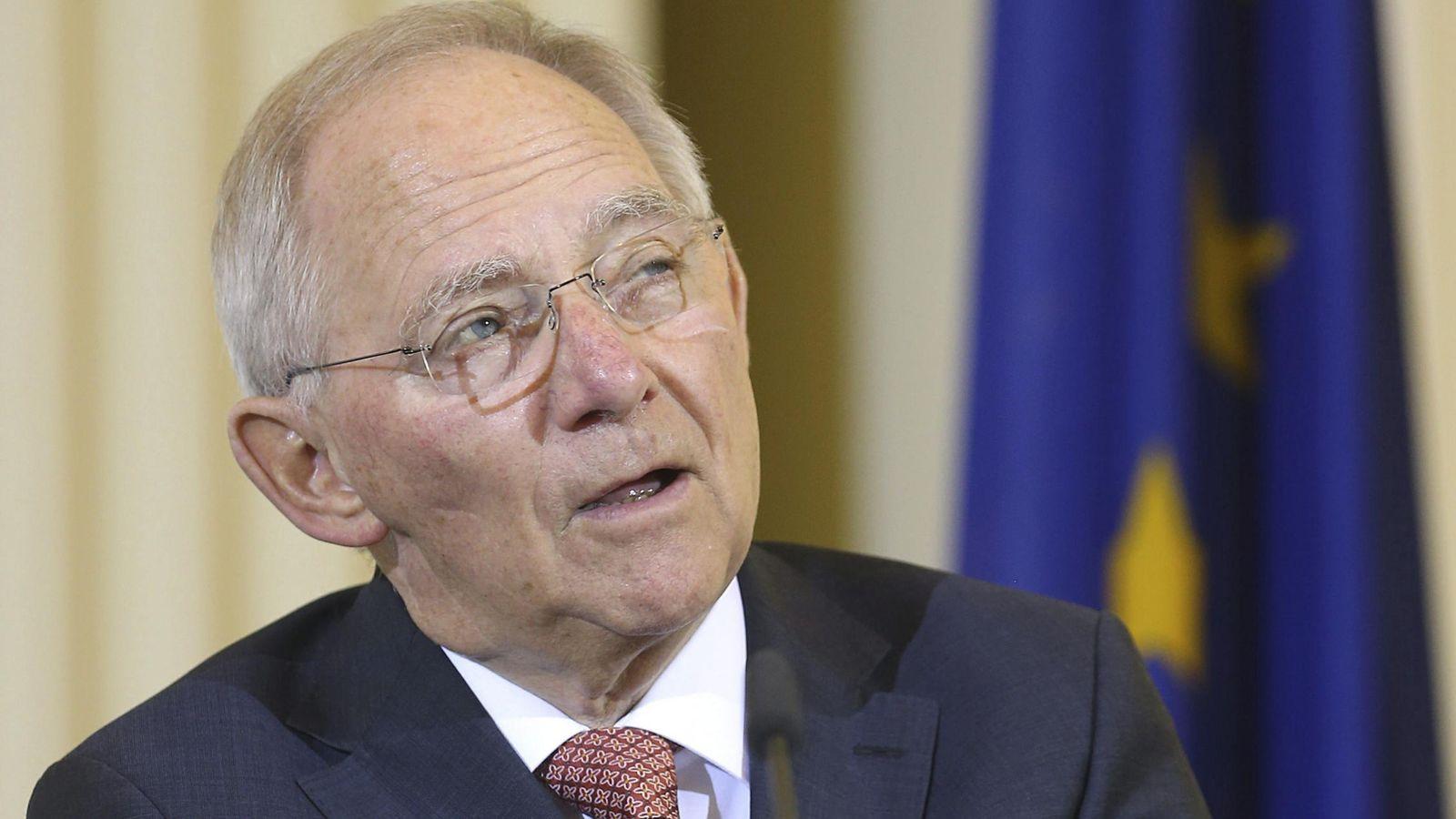 Foto: El ministro de Finanzas alemán, Wolfang Schäuble (EFE)