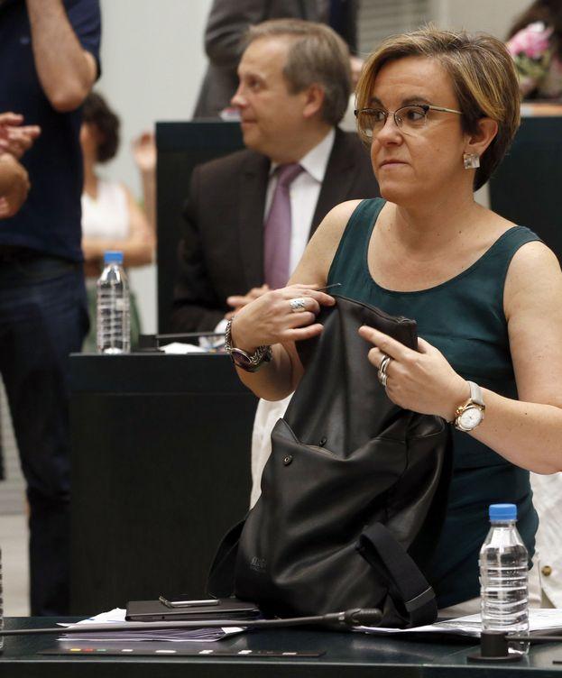Foto: La portavoz socialista en el Ayuntamiento de Madrid, Purificación Causapié. (EFE)