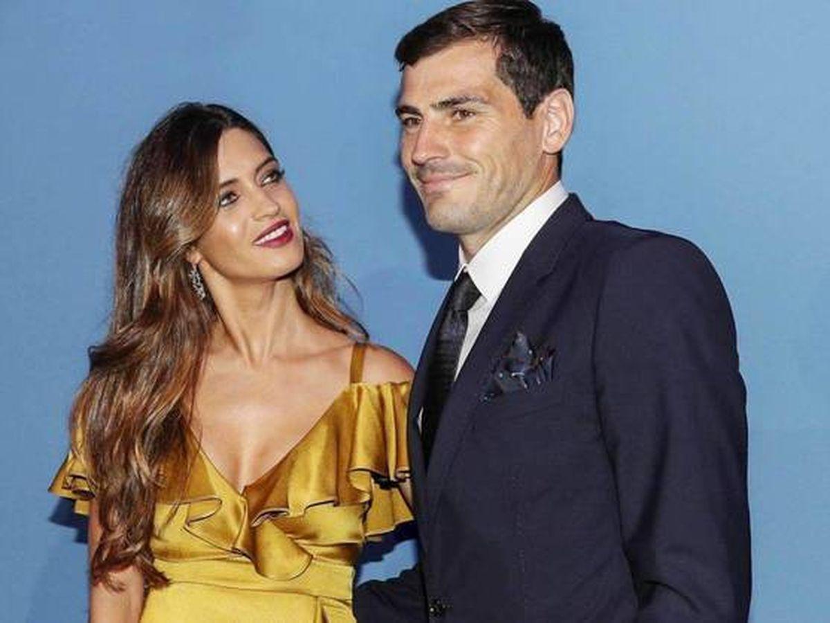 Foto:  Iker Casillas y Sara Carbonero, en una gala en Oporto. (Getty)