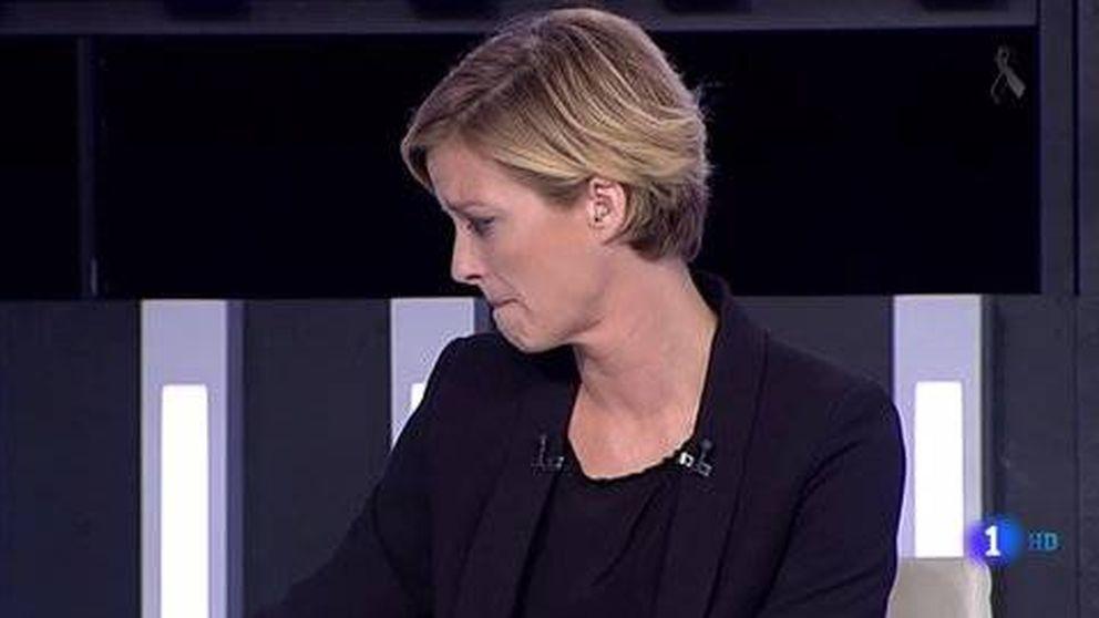 María Casado se derrumba en TVE al informar del atentado de Barcelona