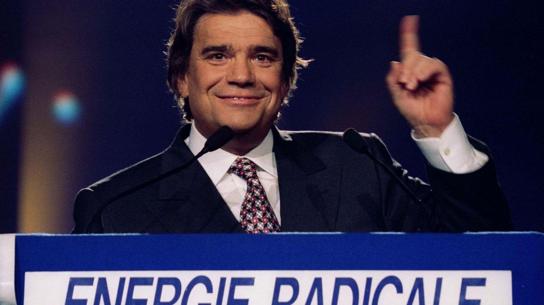 Bernard Tapie, en una campaña electoral en 1994. (Reuters)