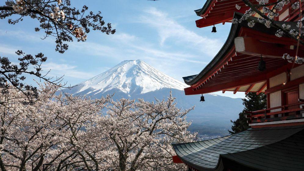 Foto: El monte Fuji, uno de los atractivos de Japón. Foto: EFE Kimimasa