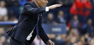 Post de Zidane, un humilde entrenador de barrio, pero con un traje de Beverly Hills