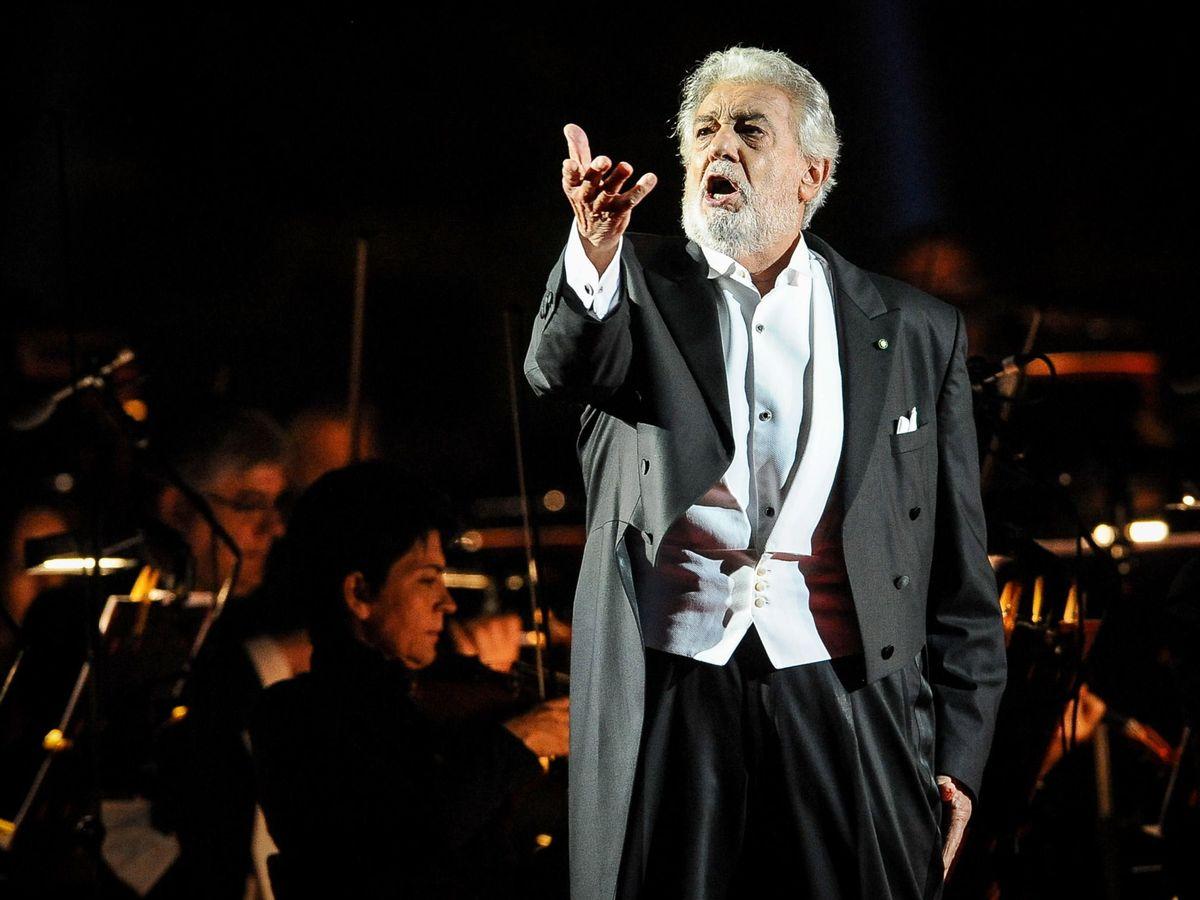 Foto: Plácido Domingo, en su actuación del pasado 28 de agosto en Verona. (EFE)