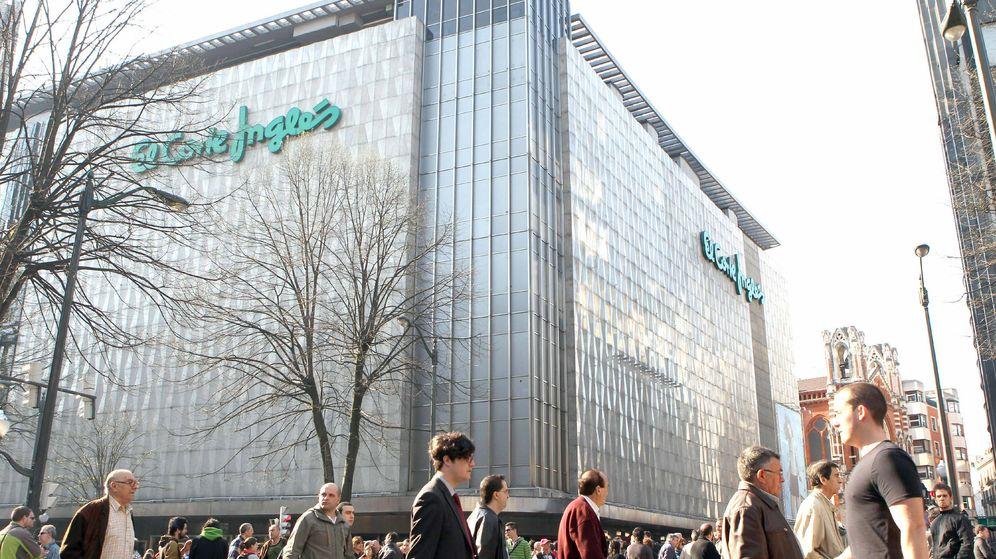Foto: Imagen de archivo del edificio de El Corte Inglés en Bilbao. (EFE)