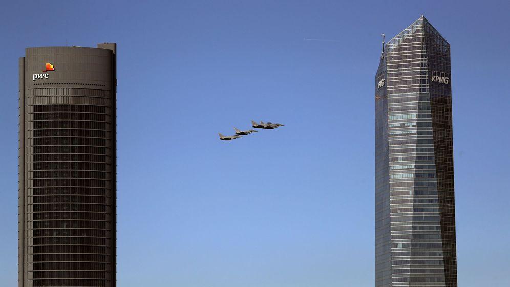 Foto: Foto de archivo de Torre PwC y Torre Cristal, en el paseo de la Castellana en Madrid. (EFE)