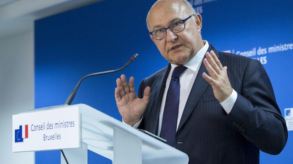 Foto: Michel Sapin, en una conferencia de prensa durante la cumbre del Eurogrupo. (Reuters)