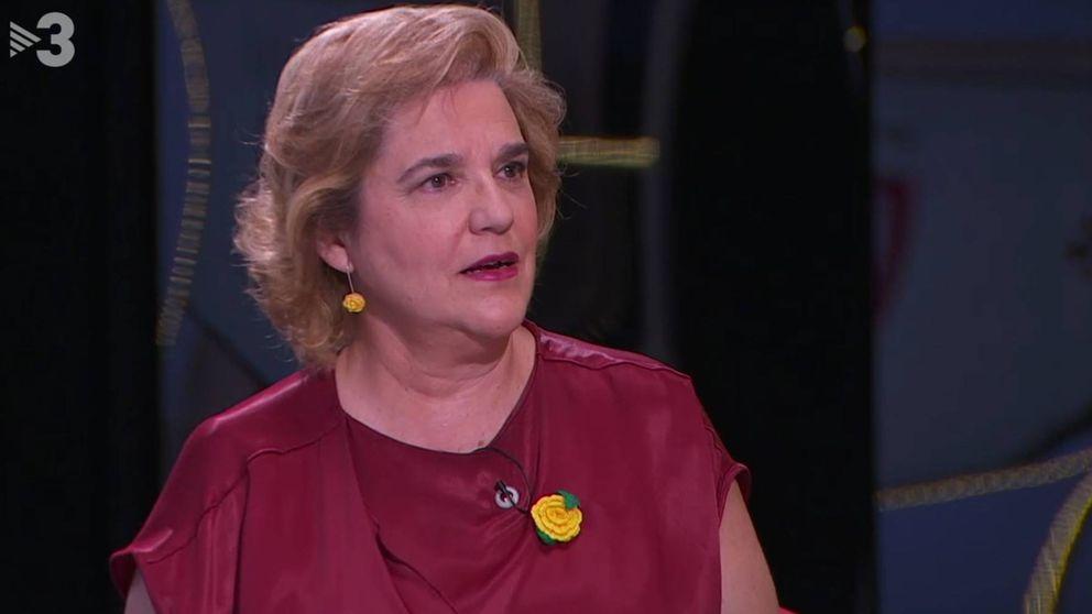 Rahola se viste de rojo PSOE  en TV3 para poner una condición a Pedro Sánchez