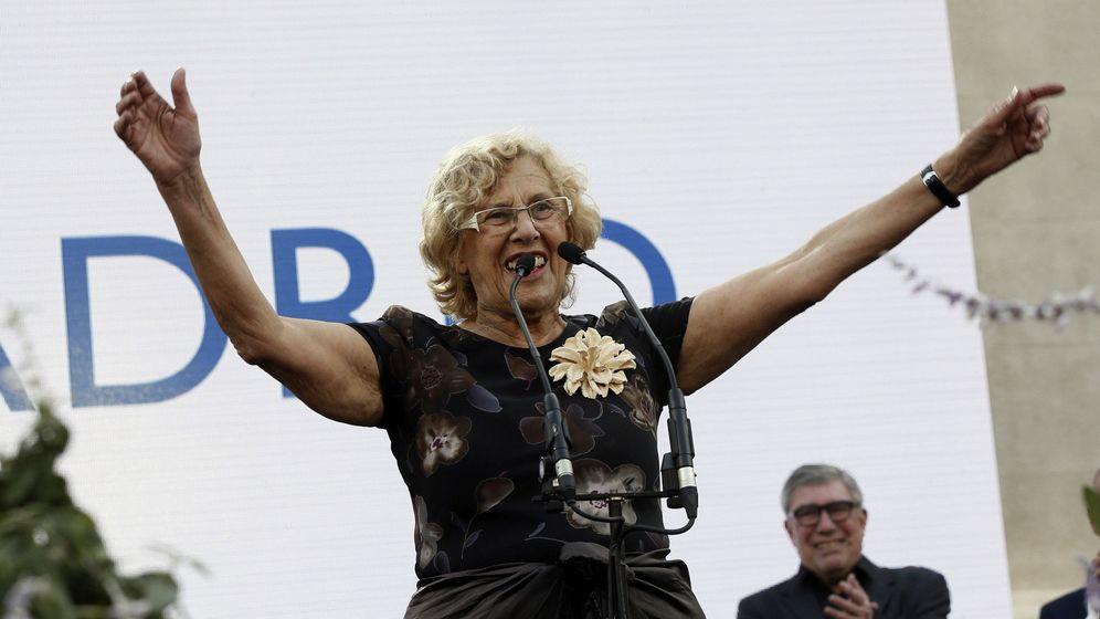 Foto: La alcaldesa de Madrid, Manuela Carmena, durante un acto en el centro cultural Conde Duque. (EFE)