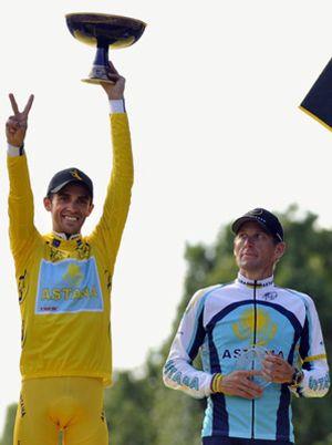 Contador y Armstrong no entierran el hacha de guerra