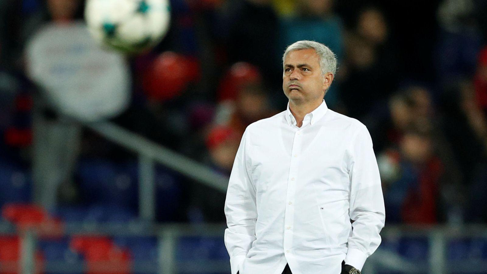 Foto: Jose Mourinho es ahora entrenador del Manchester United. (Reuters)