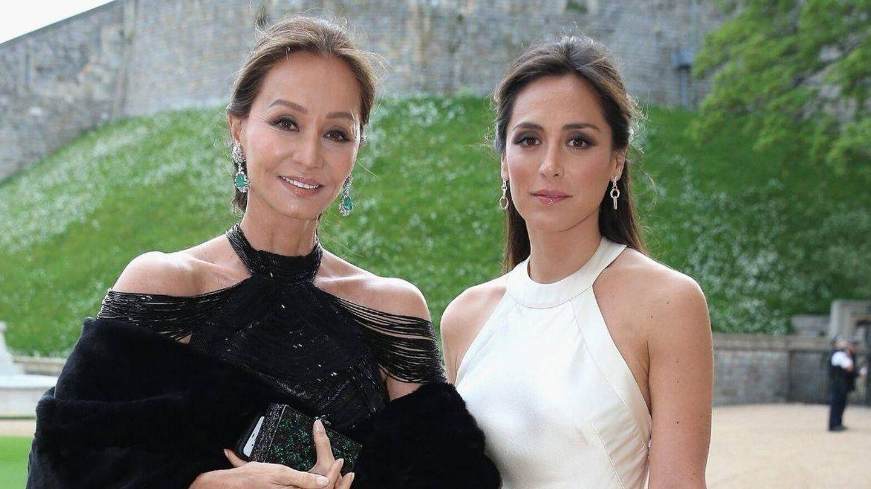 Isabel Preysler y Tamara Falcó, en 2014.  (Cordon Press)