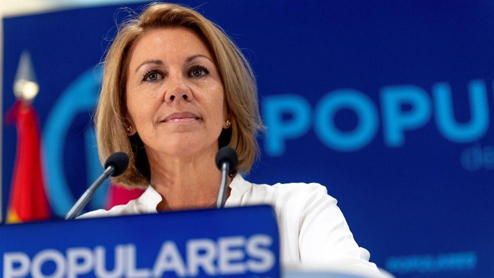 Cospedal: las conversaciones de Villarejo y su marido no cambiaron nada
