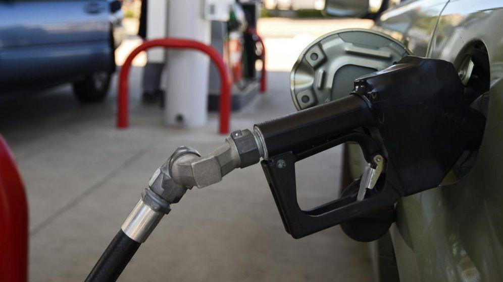 Foto: Imagen de una gasolinera.
