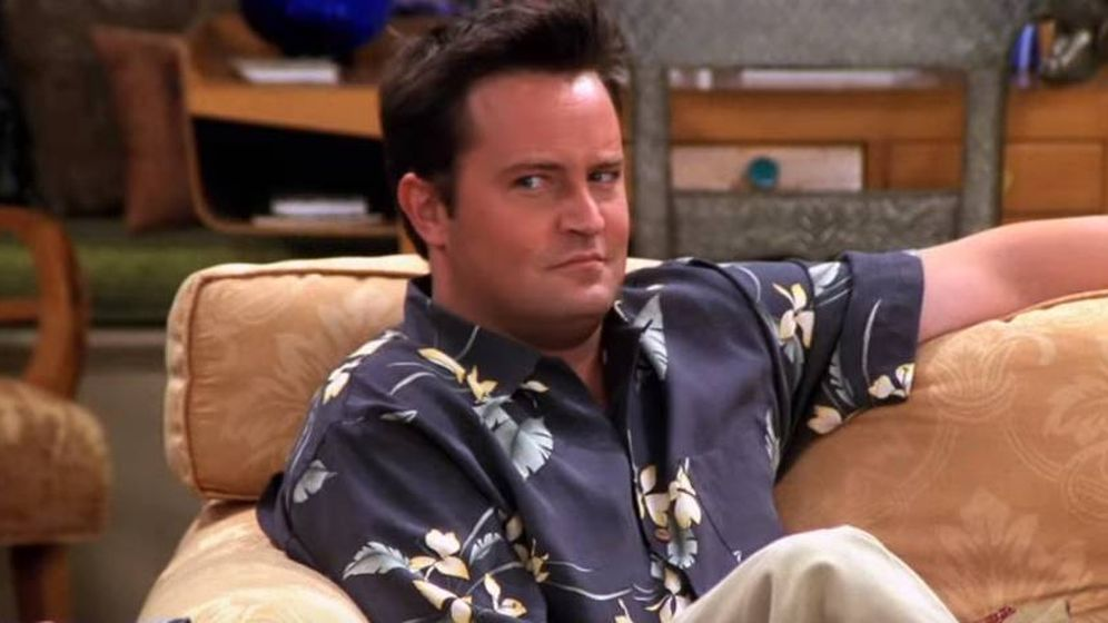 Foto: Matthew Perry en el papel de Chandler Bing, su personaje en 'Friends'