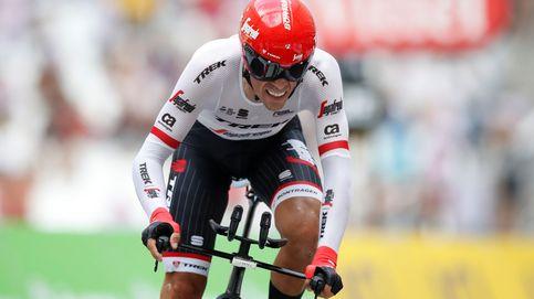 Alberto se baja de la bicicleta antes que ser la sombra de Contador