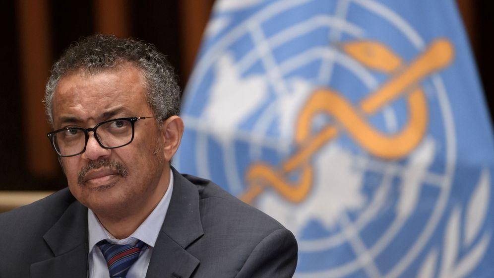 Foto: El director general de la OMS, Tedros Adhanom Ghebreyesus. (Reuters)
