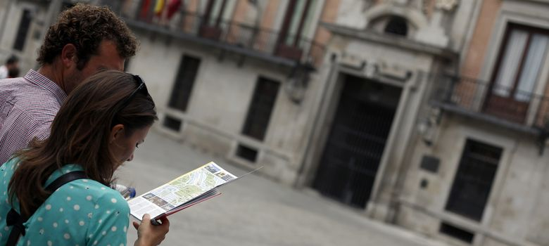 Foto: Turistas en Madrid (Reuters)