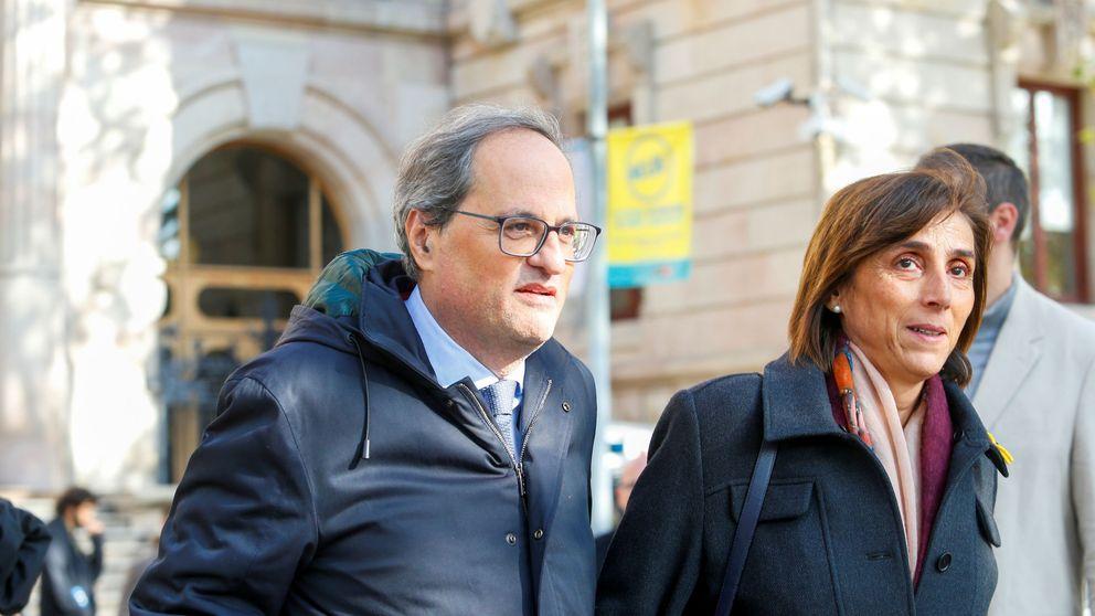 Torra suspende su agenda para acompañar a su mujer en una intervención quirúrgica