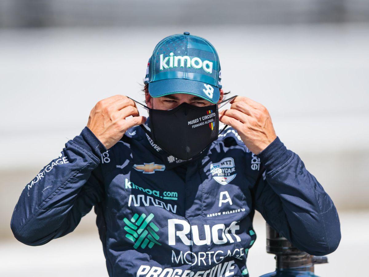 Foto: Fernando Alonso, en Indianápolis. (Reuters)