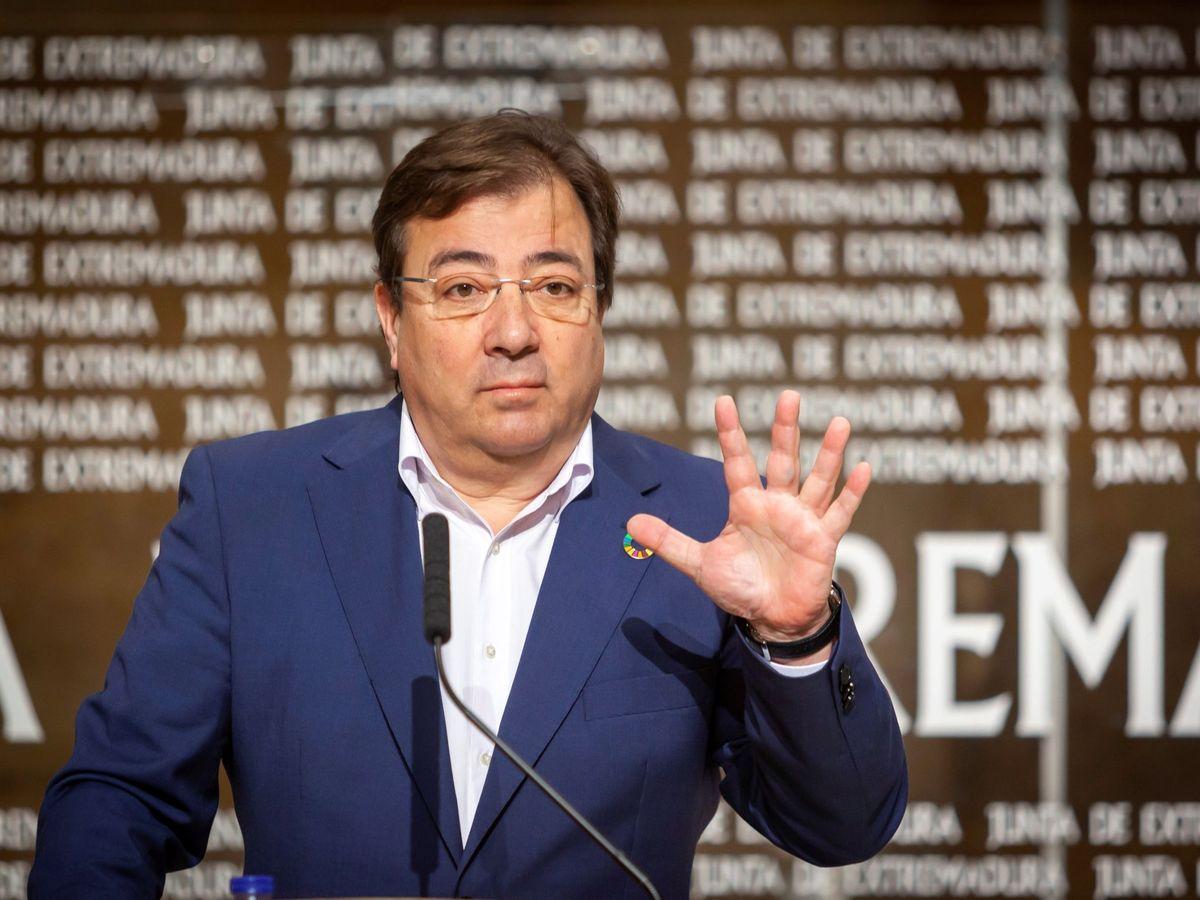 Foto: El presidente de la Junta de Extremadura, Guillermo Fernández Vara. (EFE)