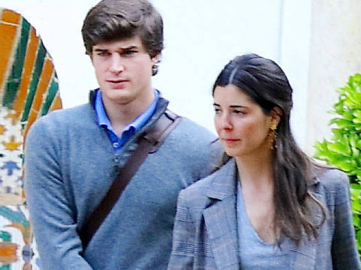 Foto: Belén Corsini y el conde de Osorno. (Lagencia Grosby)
