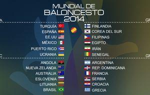 El 'Dream Team' español se cruza con Francia en la primera fase
