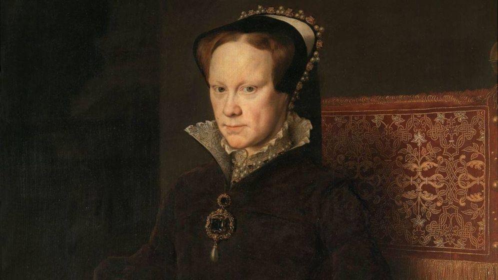 Foto: Retrato de María Tudor.
