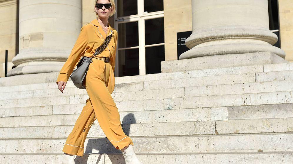 Foto: La influencer Caro Daur durante el desfile de Alta Costura de Fendi en la Semana de la Moda de París. (Getty Images)