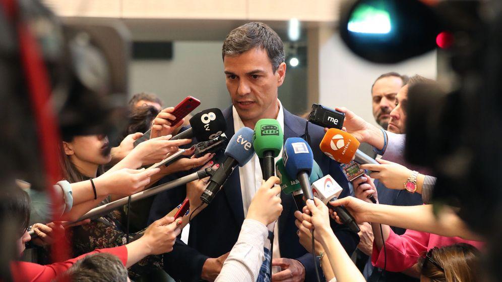 Foto: El exlíder socialista y candidato a la secretaría general Pedro Sánchez. (EFE)