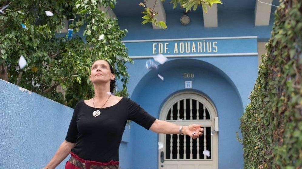 Foto: Sonia Braga en un fotograma de 'Doña Clara'