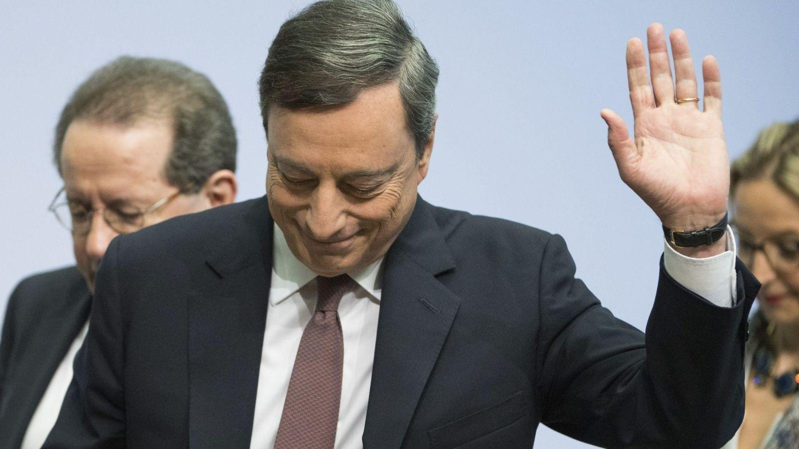 Foto: El presidente del BCE, Mario Draghi (Efe)