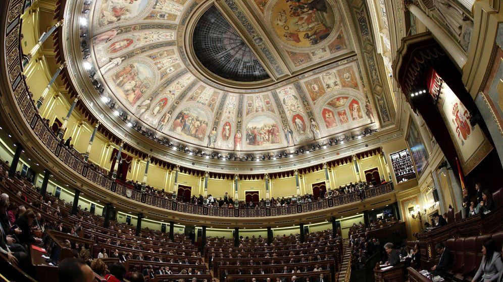 Foto: El hemiciclo, el día de la segunda votación de investidura. (EFE)