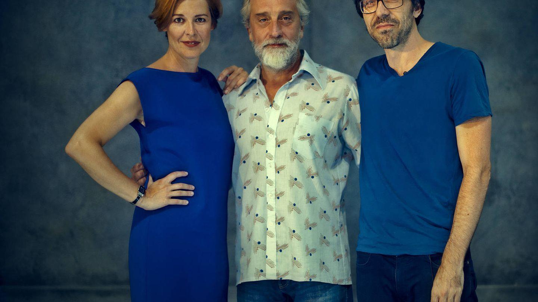 Gelabert, De Castro y Elejalde inauguran El Pavón Teatro Kamikaze con 'Idiota'. (Vanessa Rabade)