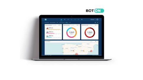 Toda la información de nuestros vehículos y flotas en una sola plataforma: BotOn