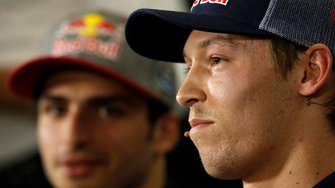 Carlos Sainz, bajo el tiroteo cruzado de Daniil Kvyat y del equipo Haas