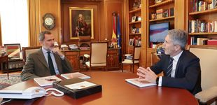 Post de El detalle del despacho del rey Felipe que simboliza el destierro de don Juan Carlos