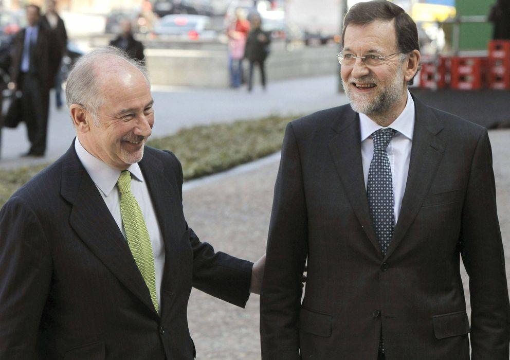 Foto: Rato y Rajoy en una foto de archivo. (Efe)
